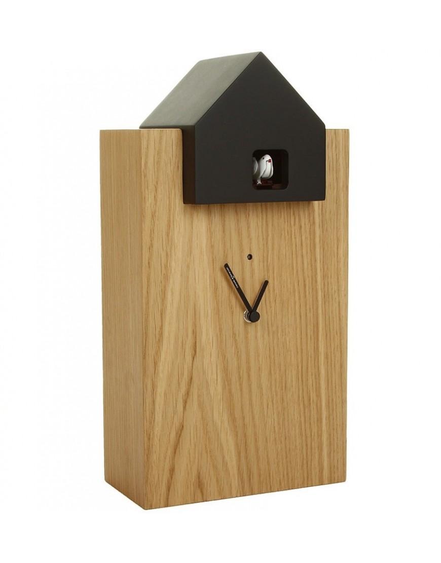 diamantini domeniconi koekoeksklok wandklok ettore eiken zwart 2057 6 34. Black Bedroom Furniture Sets. Home Design Ideas