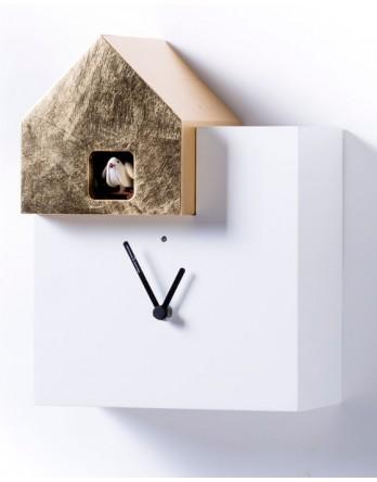 Diamantini koekoeksklok Ettore wit / goud