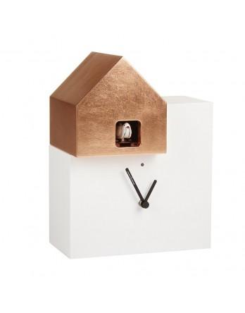 Diamantini koekoeksklok Ettore wit / koper
