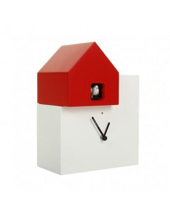 Diamantini koekoeksklok Ettore wit / rood