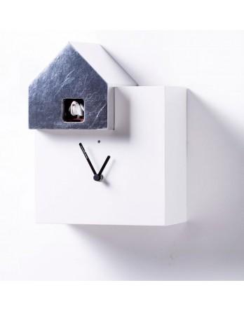 Diamantini koekoeksklok Ettore wit / zilver