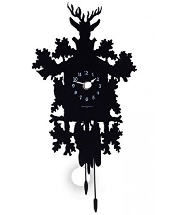 Diamantini koekoeksklok CuCu Mignon zwart