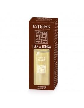 Esteban Classic Teck & Tonka Essentiele Geurolie - 15 ml