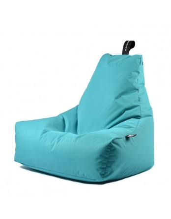 Extreme Lounging Mighty-B zitzak outdoor aqua blauw