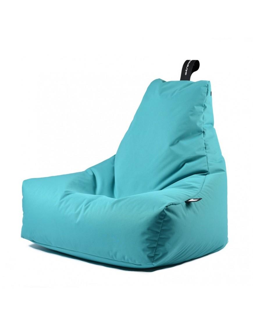 Zitzak Delfts Blauw.Extreme Lounging Mighty B Zitzak Outdoor Aqua Blauw