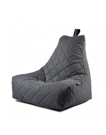 Extreme Lounging B-Bag Mighty-B zitzak quilted grijs
