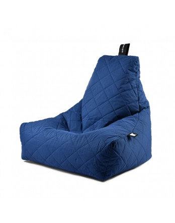 Extreme Lounging B-Bag Mighty-B quilted blauw