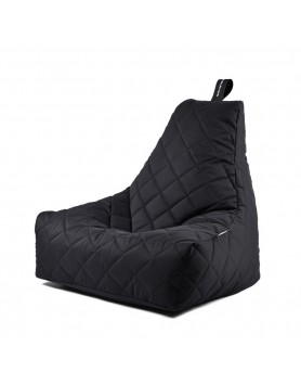 Extreme Lounging B-Bag Mighty-B zitzak quilted zwart