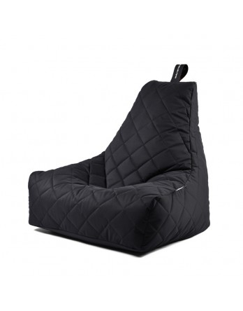 Extreme Lounging B-Bag Mighty-B zitzak quilted zwart
