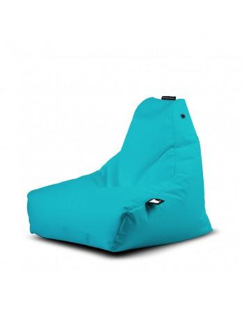 Extreme Lounging Mini-B zitzak outdoor aqua blauw