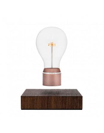 FLYTE Buckminster 2.1 zwevende tafellamp walnoten - koper