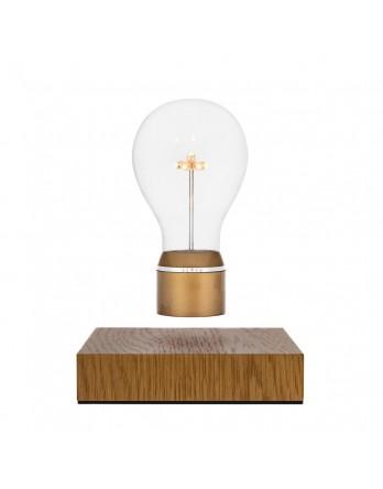 FLYTE Royal 2.1 zwevende tafellamp eiken - gouden