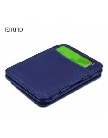 Hunterson Coin Wallet Intense Blauw RFID muntvak