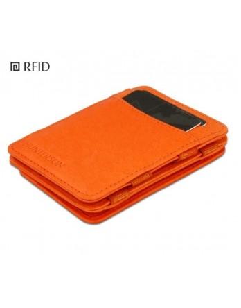 Hunterson Coin Wallet RFID Portemonnee muntvak oranje