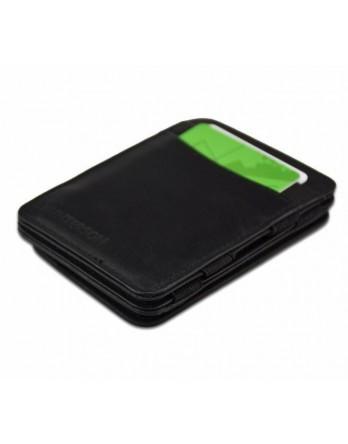 Hunterson Coin Wallet RFID Portefeuille muntvak zwart