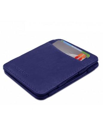 Hunterson Wallet Intense blauw RFID Portemonnee