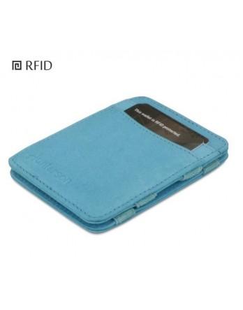 Hunterson Magic Wallet Portemonnee RFID turquoise