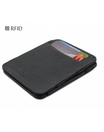 Hunterson Wallet classic grijs RFID Portemonnee