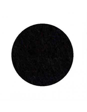 HEY-SIGN onderzetter vilt rond - 10cm 5mm - 02 zwart