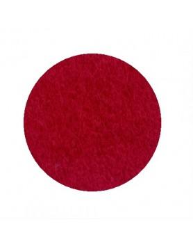 HEY-SIGN onderzetter vilt rond - 10cm 5mm - 11 rood