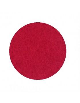 HEY-SIGN onderzetter vilt rond 10cm 5mm - pop rood