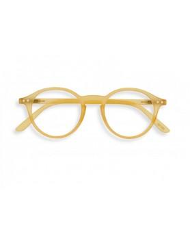 IZIPIZI model D - leesbril honing geel - kies sterkte