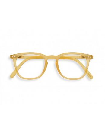 IZIPIZI model E - leesbril honing geel - kies sterkte