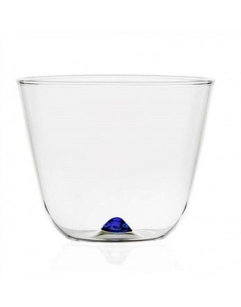 Ichendorf Bambus Party softdrink / waterglas blauw