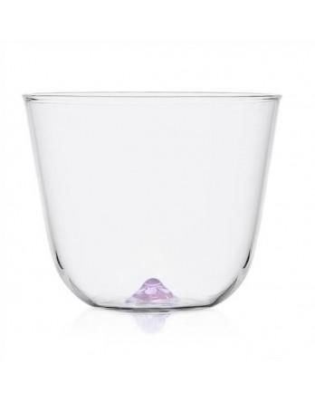 Ichendorf Bambus Party softdrink / waterglas violet