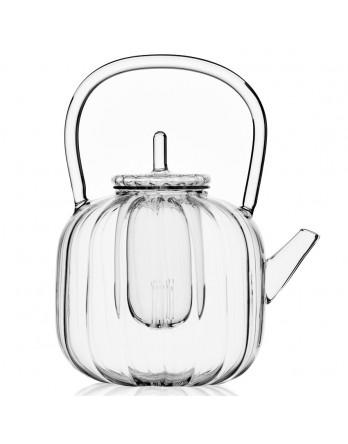 Ichendorf Cha No Yu theepot met filter 1.4L glas