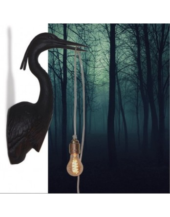 Jasmin Djerzic Flying Dutchman wandlamp zwart