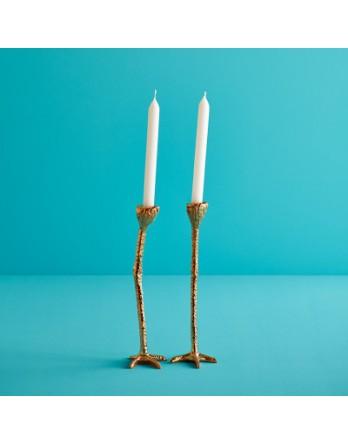 Jasmin Djerzic Long Legs Kandelaar Set van 2 - goud