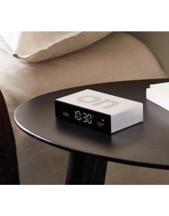 LEXON Flip premium digitale wekker aluminium - alu