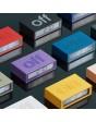 LEXON Flip + digitale wekker RCC paars