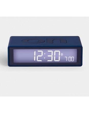 LEXON Flip digitale wekker on/off - donkerblauw