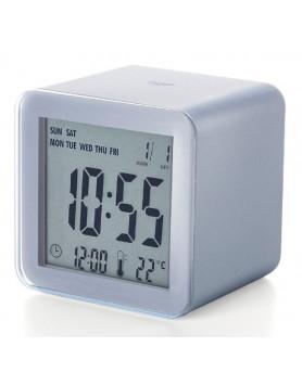 LEXON Cube sensor LCD wekker alum