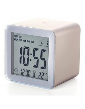 LEXON Cube sensor LCD wekker - goud