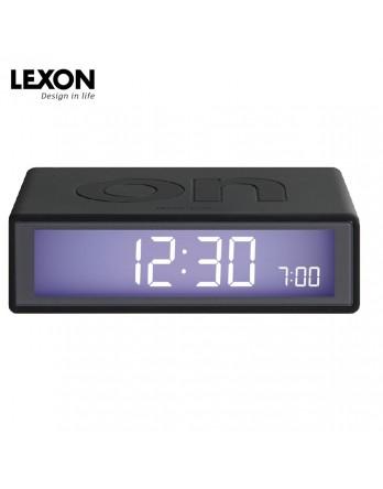 LEXON Flip digitale wekker - donkergrijs
