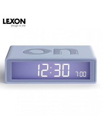 LEXON Flip digitale wekker on/off - lichtgrijs