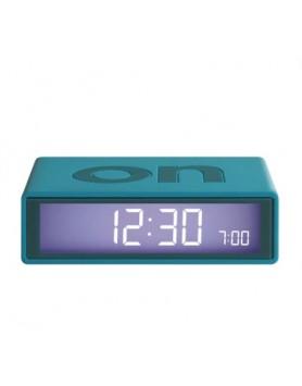 LEXON Flip wekker on / off - blauw groen