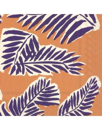 Marimekko papieren servet Babassu paars