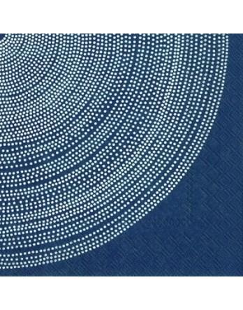 Marimekko papieren servet Fokus blauw