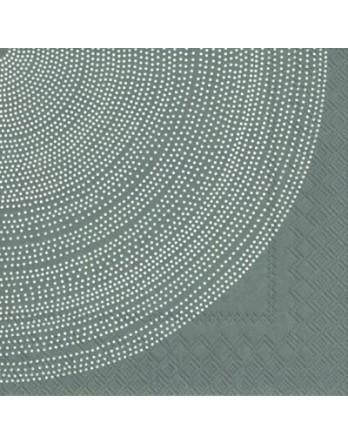 Marimekko papieren servet Fokus grijs