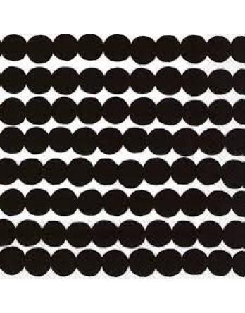 Marimekko papieren servet Rasymatto zwart