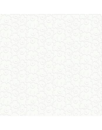 Marimekko papieren servet lunch Unikko off white