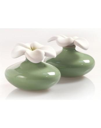 Millefiori Milano Geurbloem - klein - set 2 stuks - groen