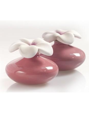 Millefiori Milano Geurbloem - klein - set 2 stuks - paars