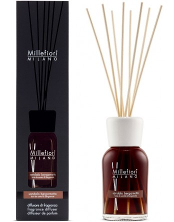 Millefiori Milano geurstokjes Sandalo Bergamotto - 250ml