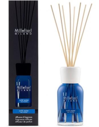 Millefiori Milano geurstokjes Cold Water 250ml