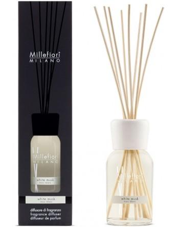 Millefiori Milano geurstokjes White Musk - 250ml